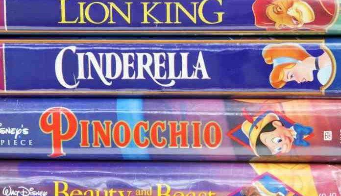 Kassetten: Disney-Filme haben ein wahnsinnigen Sammelwert