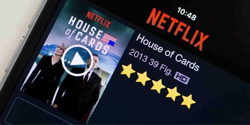 Wie viele Filme hat Netflix insgesamt?