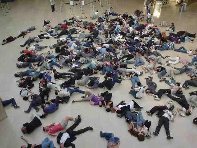 Einen Flashmob organisieren
