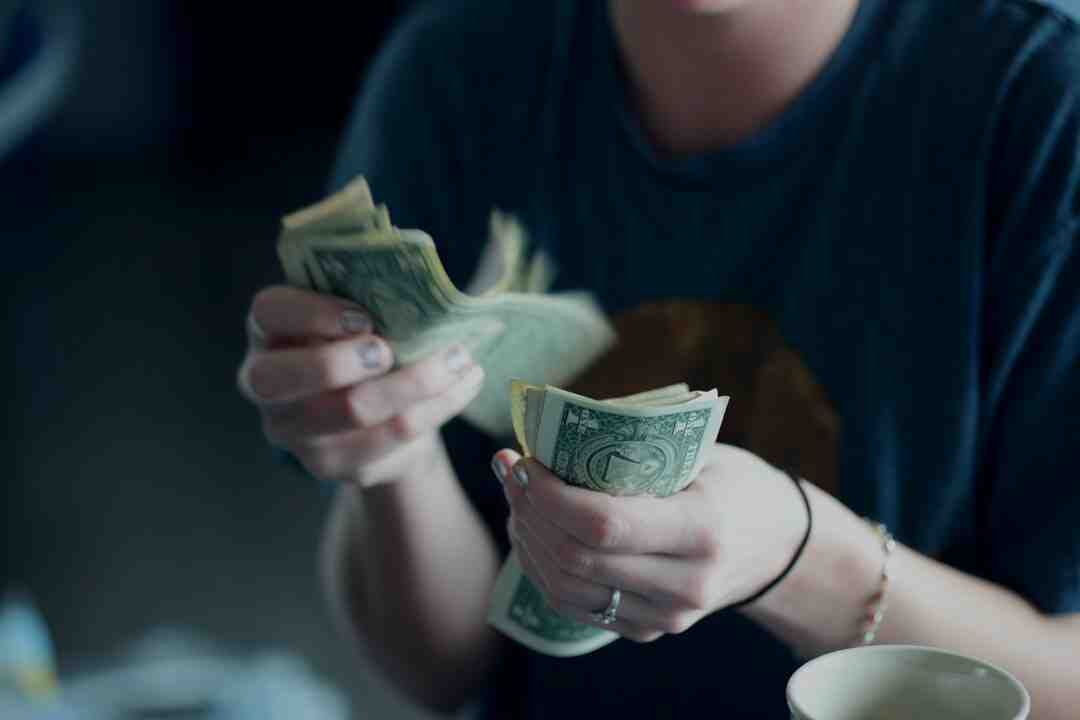 Für Recycling Geld erhalten